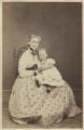 Madame Eustace with child, by Unknown photographer - NPG Ax46369
