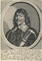 James Hamilton, 1st Duke of Hamilton, by William Faithorne, published by  Sir Robert Peake, after  Sir Anthony van Dyck - NPG D22766