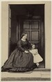 Louisa Matilda (née Harris), Lady Castlemaine with child, by Thomas Cranfield - NPG Ax46434