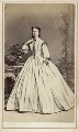 Caroline Margaret ('Lina') (née Chapman), Lady Chapman, by L. Werner - NPG Ax46312