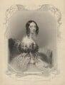Mary Augusta Frederica Pleydell-Bouverie (née Grimston), Countess of Radnor when Viscountess Folkestone, by Henry Bryan Hall, after  John Hayter - NPG D23309