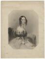 Mary Augusta Frederica Pleydell-Bouverie (née Grimston), Countess of Radnor when Viscountess Folkestone, by Henry Bryan Hall, after  John Hayter - NPG D23310