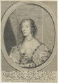 Henrietta Maria, by William Faithorne, published by  Thomas Hinde, after  Sir Anthony van Dyck - NPG D22774