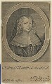 Henrietta Maria, by William Faithorne, published by  Nathaniel Brooke - NPG D22779