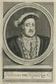 King Henry VIII, by William Faithorne - NPG D22783