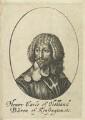Henry Rich, 1st Earl of Holland, by William Faithorne - NPG D22790