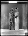 Lady Victoria Alexandrina Villiers (née Innes-Ker); Cicely Irene ('Stella') Courage (née Villiers), by Bassano Ltd - NPG x150872