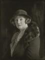 Gwladys Ethel Gwendolen Eugénie (née Sutherst), Marchioness Townshend (later le Stange), by Bassano Ltd - NPG x150875