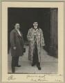 Sir Mancherjee Merwanjee Bhownaggree; Aga Khan III (Mohammed Shah), by Sir (John) Benjamin Stone - NPG x44818