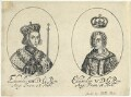 King Edward IV; fictitious portrait called King Edward V, probably by William Faithorne, published by  Sir Robert Peake - NPG D22808