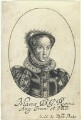 Queen Mary I, probably by William Faithorne, sold by  Sir Robert Peake - NPG D22812