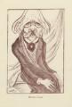 Sir (Thomas Henry) Hall Caine, by Mark Wayner (Weiner) - NPG D23326
