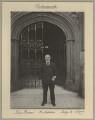 John Elliott Burns, by Sir (John) Benjamin Stone - NPG x8921