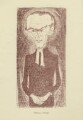 William Ralph Inge, by Mark Wayner (Weiner) - NPG D23338