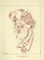 Sir Alan Patrick Herbert, by Mark Wayner (Weiner) - NPG D23342