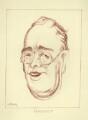 Franklin Roosevelt, by Mark Wayner (Weiner) - NPG D23349