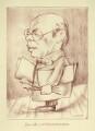 Sir William Rothenstein, by Mark Wayner (Weiner) - NPG D23350