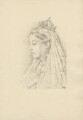 Queen Victoria, after (Marion Margaret) Violet Manners (née Lindsay), Duchess of Rutland - NPG D23351