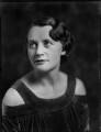 Frieda Napier (née Lewis, later Mason), by Bassano Ltd - NPG x150945
