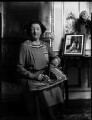 Lady Nina Geraldine Knowles (née Ogilvie-Grant), by Bassano Ltd - NPG x150949