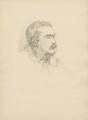 Rudyard Kipling, after (Marion Margaret) Violet Manners (née Lindsay), Duchess of Rutland - NPG D23358