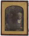 Michael Faraday; William Thomas Brande, by Antoine Claudet - NPG P740