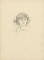 John Henry Montagu Manners, 9th Duke of Rutland, after (Marion Margaret) Violet Manners (née Lindsay), Duchess of Rutland - NPG D23390