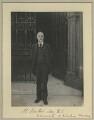 Sir Michael Foster, by Sir (John) Benjamin Stone - NPG x15832