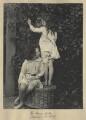Leopold Hamilton Myers; Silvia Constance Myers, by Eveleen Myers (née Tennant) - NPG Ax68410