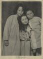 Leopold Hamilton Myers; Silvia Constance Myers; Harold Hawthorn Myers, by Eveleen Myers (née Tennant) - NPG Ax68379