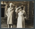 W.B. Yeats; Dorothy Violet Wellesley (née Ashton), Duchess of Wellington, by Lady Ottoline Morrell - NPG Ax143877