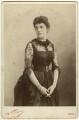 Jeanette ('Jennie') Churchill (née Jerome), Lady Randolph Churchill, by Nadar (Gaspard Félix Tournachon) - NPG x20592