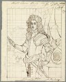 Hon. Charles-Zedemo Stanley, by Alfred Thomas Derby, after  Sir Godfrey Kneller, Bt - NPG D23112