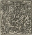 'The pope suppressed by King Henry VIII', after Unknown artist - NPG D23436