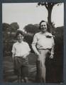 Andrew Michael John Wemyss; Lady Victoria Alexandrina Violet Erskine-Wemyss (née Cavendish-Bentinck), by Lady Ottoline Morrell - NPG Ax143908