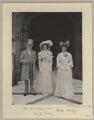 James Joicey, 1st Baron Joicey; Hon. Marguerite de Fontaine Drever Joicey; Marguerite Smyles (née Drever), Lady Joicey, by Benjamin Stone - NPG x29017