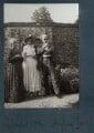 Dorelia McNeill; Lady Ottoline Morrell; Augustus John, possibly by Philip Edward Morrell - NPG Ax144009
