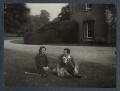 Hester Sassoon (née Gatty); Siegfried Loraine Sassoon, by Lady Ottoline Morrell - NPG Ax144016