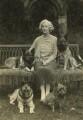Olivia (née Taylour), Lady Cavendish-Bentinck, by Lady Ottoline Morrell - NPG x144302
