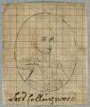 Cuthbert Collingwood, Baron Collingwood, by Henry Bone, after  Giuseppe Politi - NPG D17365
