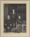 William Lundon; Michael Joseph Flavin; Patrick Aloysius M'Hugh, by Sir (John) Benjamin Stone - NPG x31891