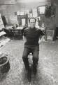 Frank Auerbach, by Bob Collins - NPG x128699
