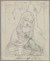 Madonna ('Madonna of the Yardwinder'), by Henry Bone, possibly after  Marco d'Oggiono - NPG D17460