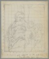 Madonna and Child with an Angel, by Henry Bone, probably after  Antonio Allegri da Correggio - NPG D17481