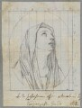 'Madonna dolorata', by Henry Bone, after  Guido Reni - NPG D17487