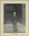 Henry Stafford Northcote, Baron Northcote, by Sir (John) Benjamin Stone - NPG x32927