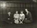 The Boyle family, by Bassano Ltd - NPG x150983