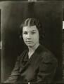 Phyllis Morva ('Bunty') Trechman (née Dalzell Hunter), by Bassano Ltd - NPG x150990