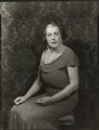 Kate ('Kitty') (née Endersby), Lady Harwood, by Bassano Ltd - NPG x150991