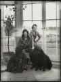 (Lilian) Maud Glen (née Coats), Duchess of Wellington; Lady Anne Maud Rhys (née Wellesley), by Bassano Ltd - NPG x151009
